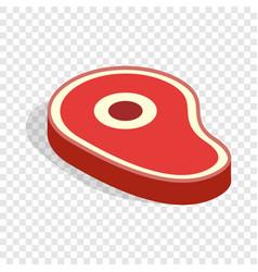 Meat isometric icon vector