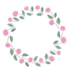ring of roses vector image