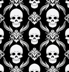 Skull Pattern vector image vector image