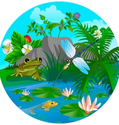 summer insect 4 vector image