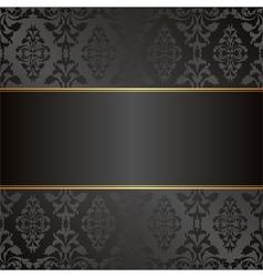 Velvet black background vector