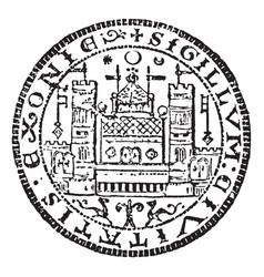 corporation seal mdash encyclopedia britannica vector image
