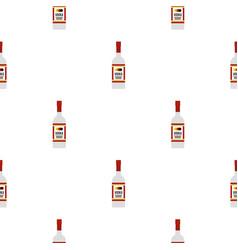 Vodka pattern flat vector