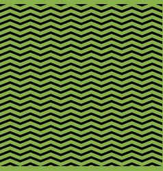 greenery and black chevron seamless pattern vector image