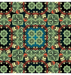 Green carpet asian wallpaper design tribal vector