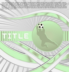 Dynamic sport series soccer vector
