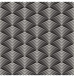 Seamless rhombus grid lines geometric vector