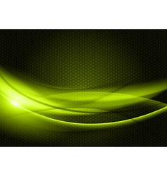 abstract background green color vector image vector image