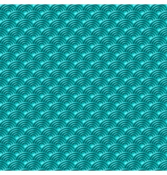 Chinese blue seamless pattern dragon fish scales vector image vector image