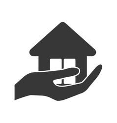 Home house silhouette icon graphic vector