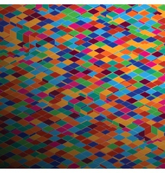 Abstract square pixel mosaic background EPS 8 vector image