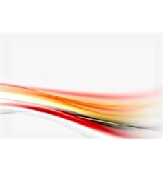 Blurred wave motion vector image