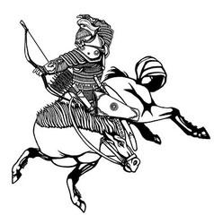 Nurgun Bagatur vector image