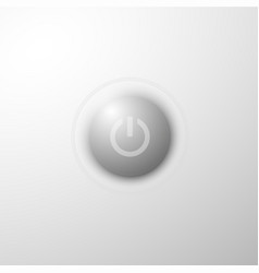power button concept vector image