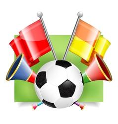 Soccer banner vector