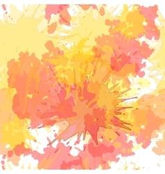 Watercolor blots seamless background vector image vector image