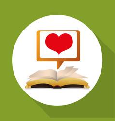Ebook design reading icon white backgroun vector