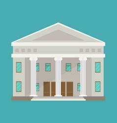 Education temple building temple vector