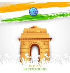 Indian Gate vector image