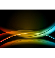 Abstract background rainbow color vector