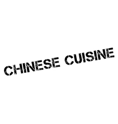 Chinese cuisine rubber stamp vector
