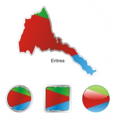 eritrea vector image