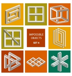 Impossible objects set 4 vector