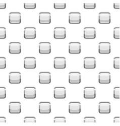 White square button pattern vector
