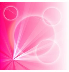 Pink light abstract background vector
