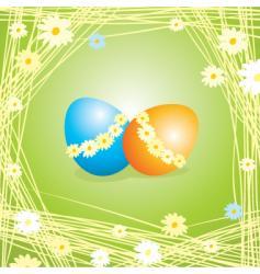 Egg green vector