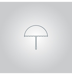 Umbrella icon - vector
