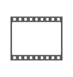 Film strip sign vector