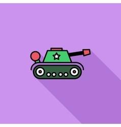 Tank toy vector