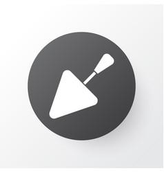 Trowel icon symbol premium quality isolated vector