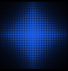 Symmetrical halftone ellipse pattern background vector