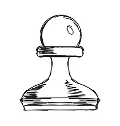 a pawn vector image
