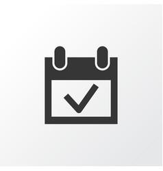 event icon symbol premium quality isolated vector image vector image