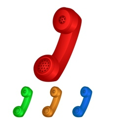 Handset Icon vector image