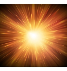 Background with explosion vector