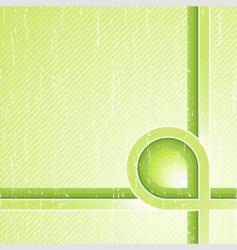 ecological stripes corner design vector image