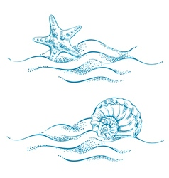 Seaside vector
