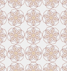 The pattern oriental style vector