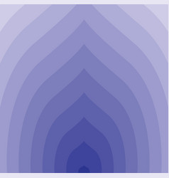 blue circular lines tunnel vector image vector image