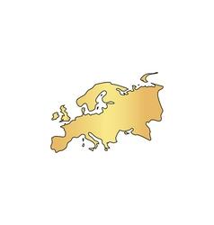 Eurasia computer symbol vector