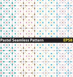 Pastel seamless pattern vector