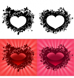 Valentine's day hearts vector