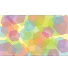 Abstract geometric background kaleidoscope vector