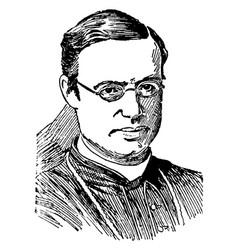 Archbishop michael corrigan vintage vector