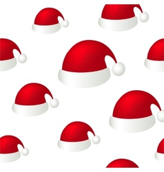 Red hat background vector image vector image