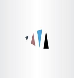Logo n letter n sign logotype symbol icon vector